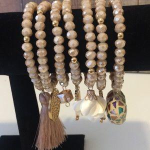 Jewelry - Set of Mexican bracelets Semanarios